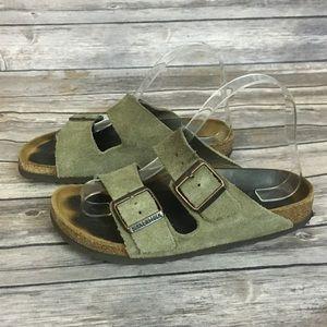 Birkenstock Suede 2 Strap Sandals